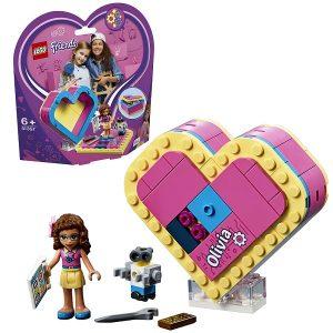 Конструктор LEGO Friends Шкатулка сердечко Оливии 41357