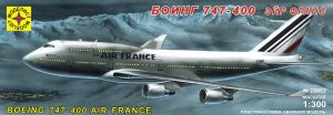 Самолет Боинг 747-400 Эйр Франс Моделист 230032