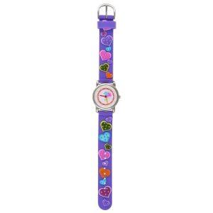 Часы наручные радуга 101 фиолетов Сердца