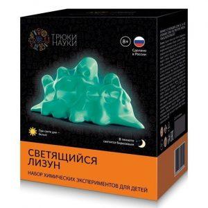 Научный набор Трюки науки  Светящийся лизун зеленый зеленыйZ104