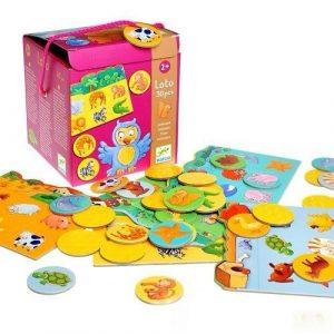 DJECO Игра детское лото Животные 08120
