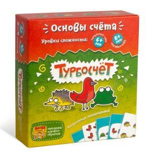 Настольная игра БАНДА УМНИКОВ Турбосчет УМ003 6+