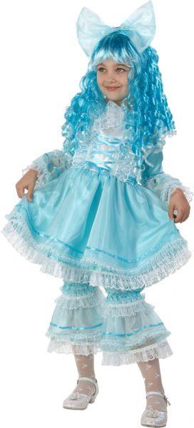 Карнавальный костюм Кукла Мальвина Зв.маскарад р.30 473-30