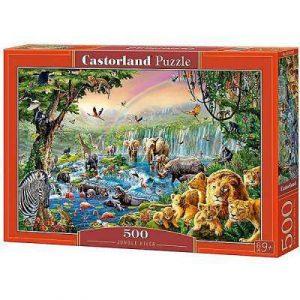 Пазл Castorland  Река в джунглях 500 деталей В-52141 9+