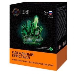 Научный набор Трюки науки Идеальный кристалл зеленый Z118
