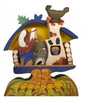 Игрушка Сказки дерева Баба Яга в избушке 08033