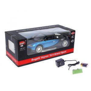 MZ Машина р/у 1:10 Bugatti Veyron + акб 124 013