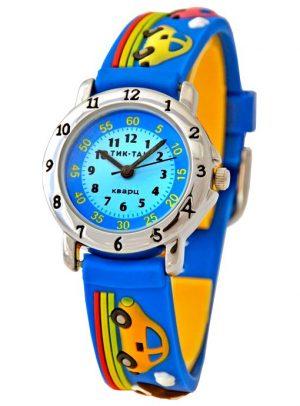 Часы наручные Тик Так  синие машинки Н105-2