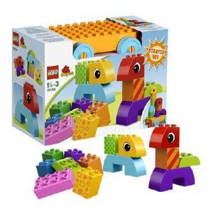Игрушка Дупло Веселая каталка с кубиками 10554