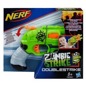 NERF Бластер Зомби Страйк Двойная Атака А6562