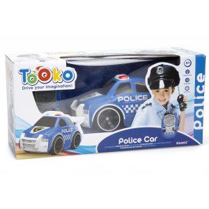 Машина на радиоуправлении Silverlit Полицеская машина Tooko 81484