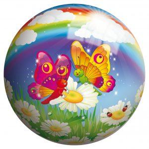 Мяч 230мм Бабочка 50116