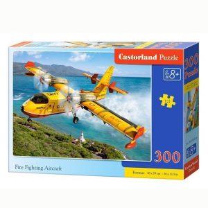 Пазл CastorLand  Пожарный самолет 300 деталей В-030026