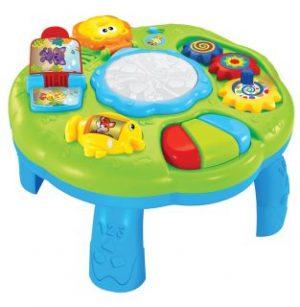 Развивающая игрушка Жирафики Столик со светом и музыкой 939597