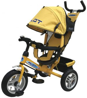 Велосипед трехколесный PILOT желтый PTA3Y