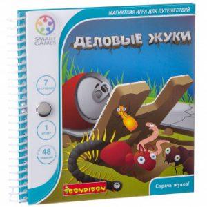 Магнитная игра BONDIBON для путешествий Деловые жуки ВВ0885