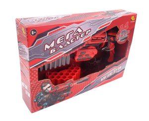 Мегабластер Набор для стрельбы мягкими пулями 14 пуль в комплекте РТ-01055