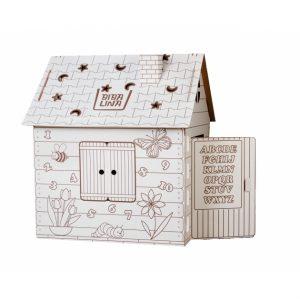 Картонный домик BIBALINA BBL003-001
