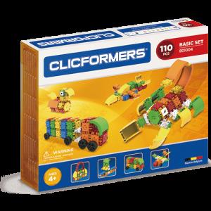 Развивающий конструктор CLICFORMERS Basic Set 110 деталей 801004