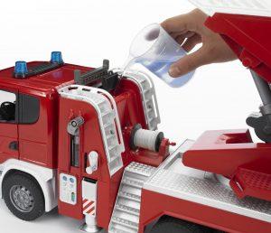 Bruder Пожарная машина машина Scania 03-590