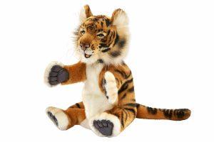 Игрушка на руку Hansa Тигр 24 см 4039
