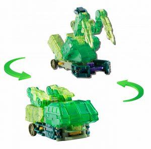 Машинка трансформер Screechers Wild Гейткрипер 34826