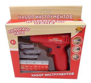 Набор инструментов AB Toys Помогаю папе в наборе 5 предметов 21*5*22