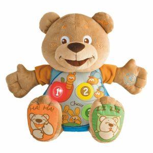 Мягкая игрушка Chicco Мишка музыкальный 60014