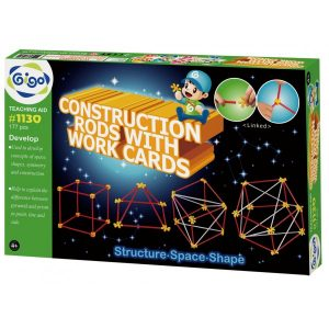 Конструктор GIGO Прутья CONSTRUCTION RODS WITH WORK CARDS 1130