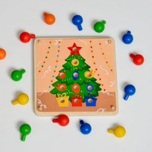 Деревянная мозаика RADUGA KIDS С Новым Годом 123534