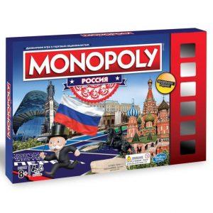 Настольная игра Hasbro Games Монополия Россия новая уникальная версия В7512121