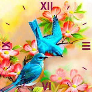 Алмазные часы Color kit  Райские птички 7303014