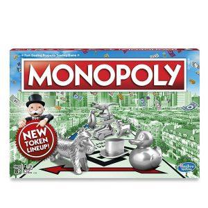 Настольная игра Hasbro Games Монополия Классическая Обновленная С1009121
