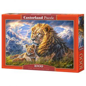 Пазлы Castorland Отцы и дети 1000 деталей С-104277