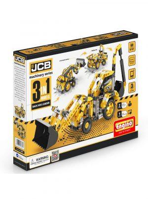 Конструктор ENGINO JCB Экскаватор погрузчик 3 модели JCB30