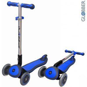 Самокат GLOBBER ELITE S My Free Fold up DARK BLUE 446-100