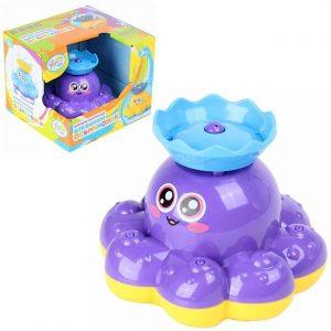 Игрушка фонтанчик для ванны Ути Пути Осьминожек 72444