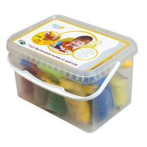 Набор для детской лепки Тесто-пластилин 12 цветов ТА1068