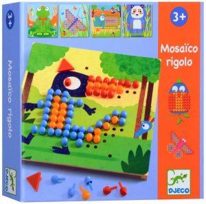 DJECO Игра Мозаика Риголо 08136