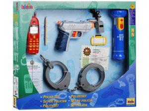 Набор полицейского с пистолетом 10 предметов 8800