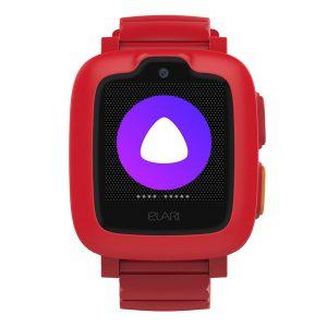 Часы телефон Elari KidPhone 3G красные