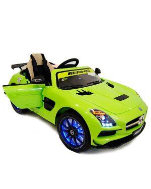 Детский электромобиль Mercedes Benz SLS A333AA зеленый VIP