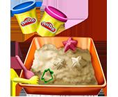 Лепка и песок