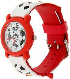 Часы наручные Радуга 102 красный футболист 102
