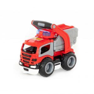 Автомобиль ГрипТрак пожарный в сетке 0872