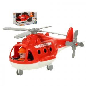 Вертолет пожарный Альфа в коробке 68651