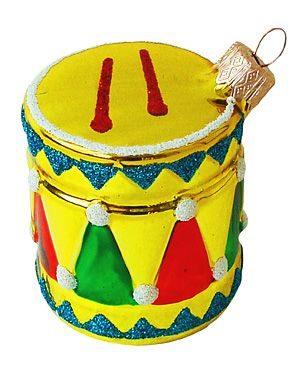 Елочное украшение Барабан С1311