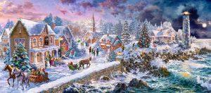 Пазлы Castorland На Рождество 600 деталей В-60184