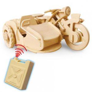 Конструктор деревянный GOOD HAND Мотоцикл 70 дет V300