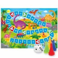 Настольная игра Игра ходилка Динозавры 3+